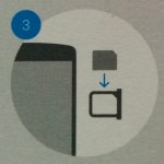Sim Card Insert - Nexus 5 - Step 3