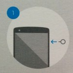 Sim Card Insert - Nexus 5 - Step 1