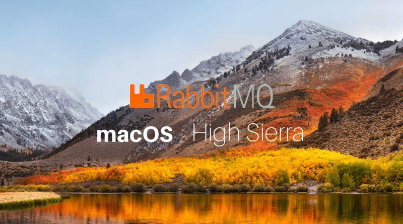 macOS RabbitMq
